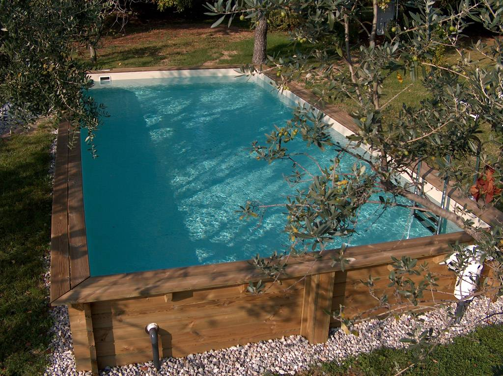 Le piscine fuori terra solaris - Piscina a terra ...