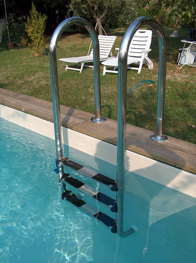 Solaris wood le migliori piscine fuori terra solaris for Accessori per piscine fuori terra