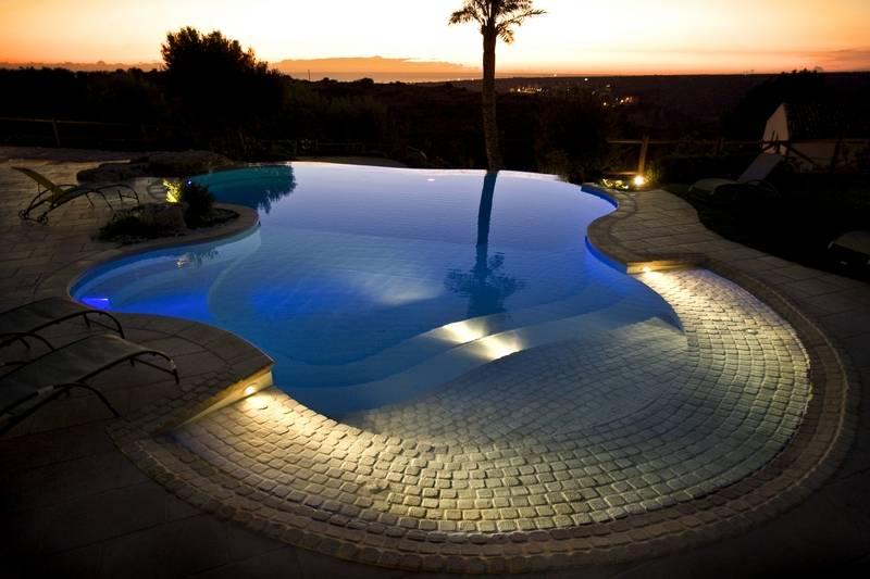 Illuminazione delle piscine solaris solaris
