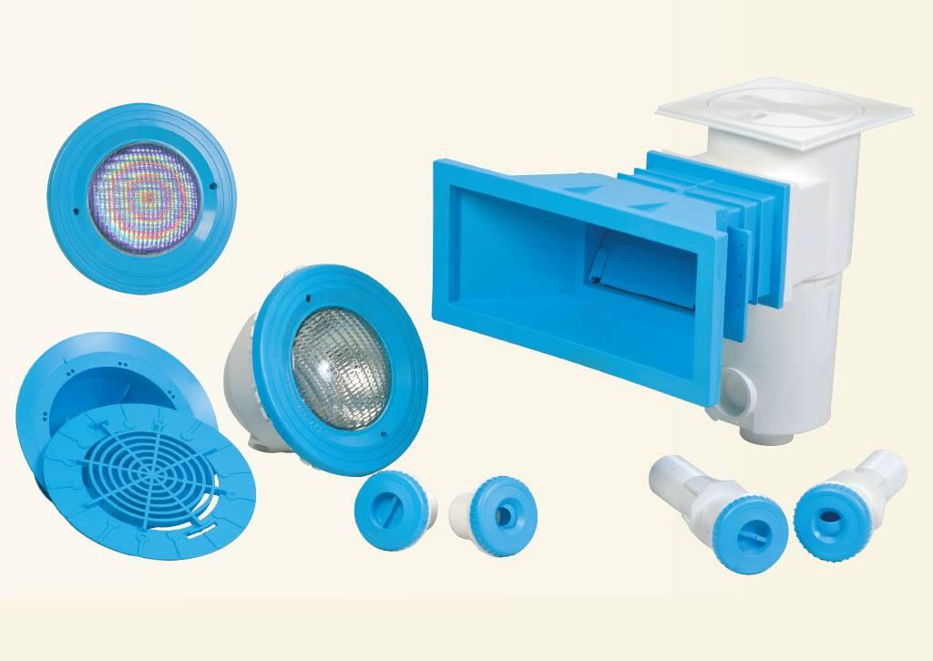 Il colore negli accessori delle piscine solaris solaris for Accessori piscine
